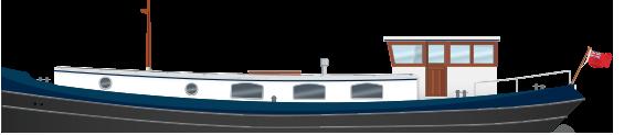 Profile 55N Nivernais Class Dutch Barge