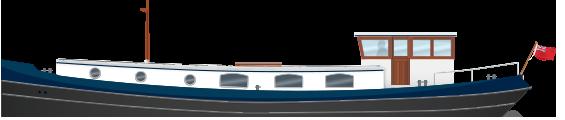 Profile 57N Nivernais Class Dutch Barge