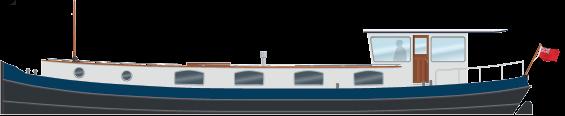 Profile 60M Motor Class Dutch Barge
