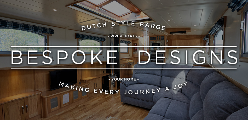 Dutch style barge bespoke design