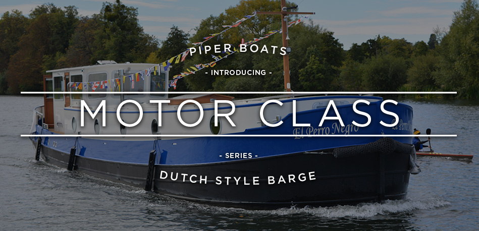 DUTCH STYLE BARGE - PIPER BOATS - DUTCH BARGE BUILDERS