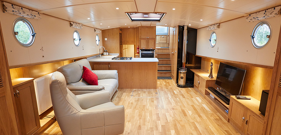 Saloon 49L Luxemotor Class Dutch Barge