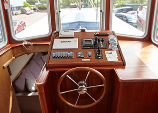 Wheelhouse 49L Luxemotor Class Dutch Barge