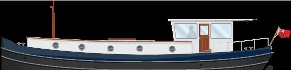 Profile 49M Motor Class Dutch Barge