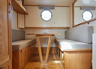 Side Cabin 49M Motor Class Dutch Barge