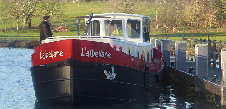 Lalbeliane 55N Nivernais Class Dutch Barge