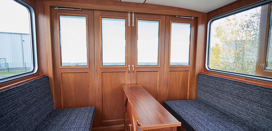 Wheelhouse Dinette 65M Motor Class Dutch Barge