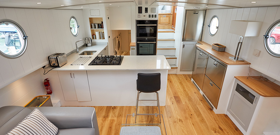 Galley 55L Luxemotor Class Dutch Barge
