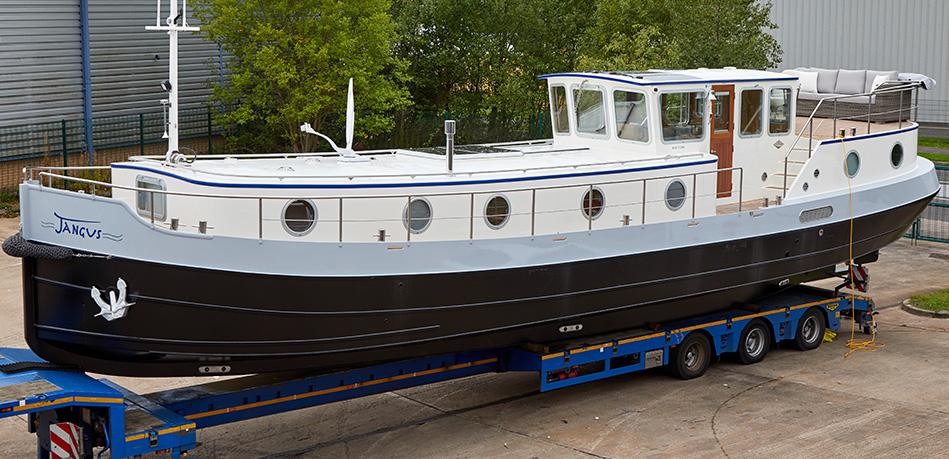 Jangus 55L Luxemotor Class Dutch Barge
