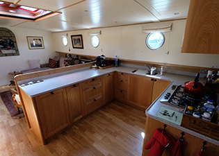 Galley 65L Luxemotor Class Dutch Barge
