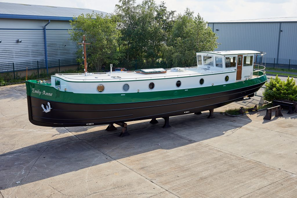 Emily Anne 60M Motor Class Dutch Style Barge Barge Piper Boats Biddulph