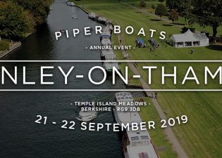 Piper Boats September 2019 Henley Event Temple Island Meadow